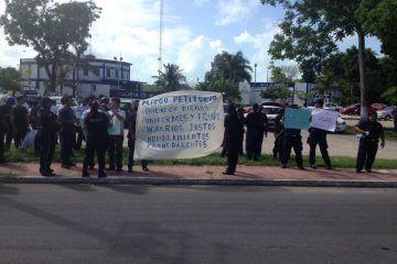 Policías de OPB manifiestan irregularidades en su corporación