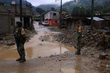 'Earl' suma 40 muertos en la geografía mexicana