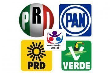 Sin cabeza, partidos políticos de Quintana Roo