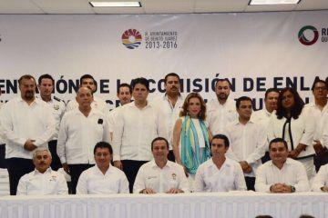 Presenta Remberto Estrada comisión de enlace de entrega-recepción en Benito Juárez
