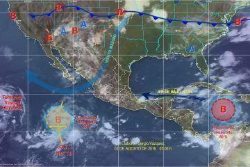 Autoridades en alerta por posible sistema ciclónico cercano a Q. Roo