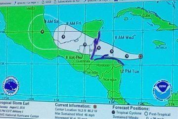 """""""Earl"""" deja 6 muertos a su paso por República Dominicana"""
