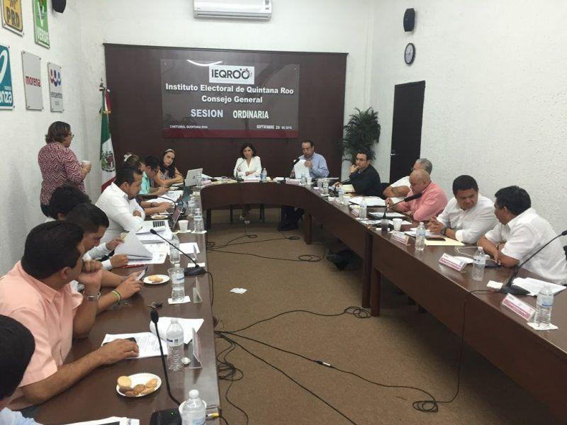 Consejo general del IEQROO aprueba anteproyecto de presupuesto de egresos para el ejercicio 2017
