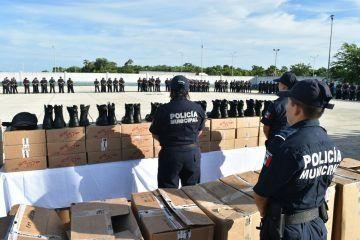 Refuerza Rafa Castro la seguridad en el municipio