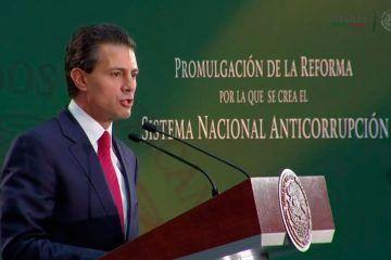 En juego validez Sistema Nacional Anticorrupción del Presidente Enrique Peña Nieto