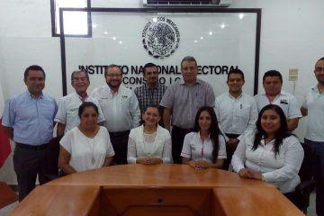 Cubren vacantes en el INE Quintana Roo