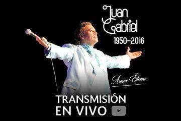 Instituto Nacional de Bellas Artes: Homenaje a Juan Gabriel 1950 – 2016