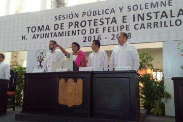 Paoly Perera, hace historia como primera Presidenta municipal de Felipe Carrillo Puerto