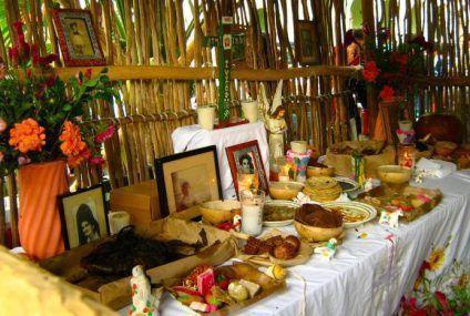 Organiza Ayuntamiento celebración del día de muertos