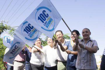 Juntos sociedad y gobierno construimos un mejor solidaridad: Cristina Torres
