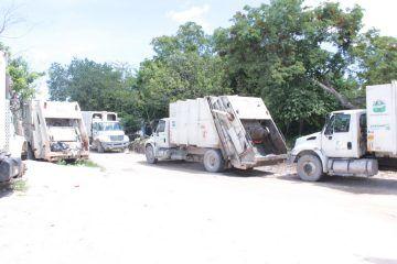 Se intensificó la recolección y la limpieza de la ciudad por órdenes de la Presidenta Municipal