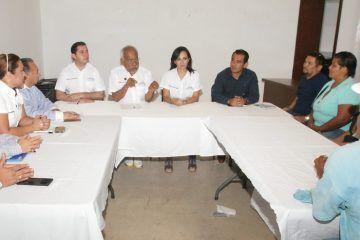 El compromiso con familias de Puerto Morelos de otorgarles certeza jurídica: Laura Fernández