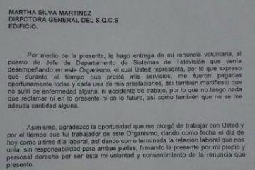 Martha Silva mete cuchillo en el Sistema Quintanarroense de Comunicación Social