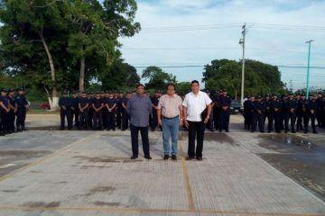 Juan Carlos Pérez Larios, asume la Subdirección Operativa de la Policía Municipal de OPB