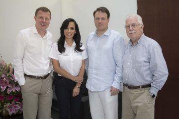 Sostiene Laura Fernández importantes reuniones con funcionarios estatales, en beneficio de Puerto Morelos