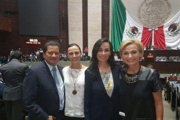 Impulsa Laura Fernández, en la cámara de diputados, plenitud de derechos de puerto morelos en materia presupuestal