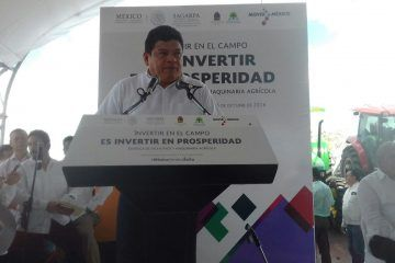 Luis Torres Llanes pide a titular de la Sagarpa apoyar agricultores de OPB