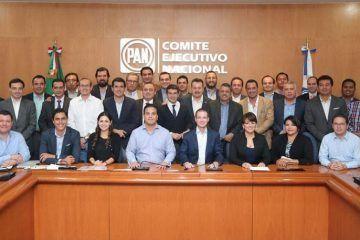 Afinan detalles para la renovación del Consejo Nacional y Estatal del PAN