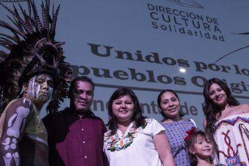 Conmemora solidaridad identidad cultural de los pueblos indígenas