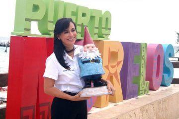 Celebra Laura Fernández promoción de Puerto Morelos