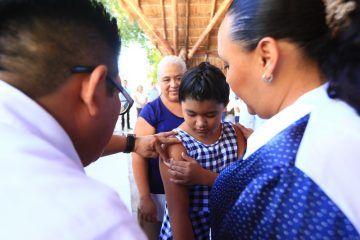 Inicia en Solidaridad tercera Semana Nacional De Vacunación