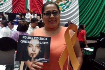 Freno a la violencia contra la mujer