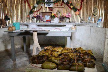 La Zona Maya preserva tradición del Hanal Pixán