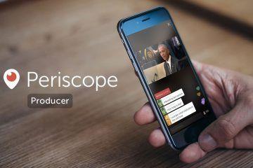 Periscope lanza herramienta de transmisión profesional