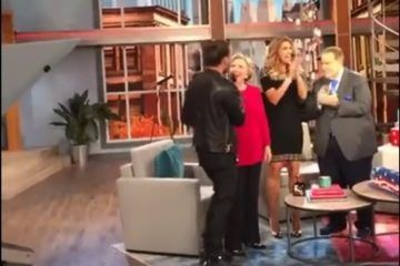 Clinton busca votos latinos en show de Univisión
