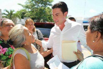 Garantiza Remberto Estrada una administración de resultados en Benito Juárez