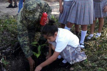"""SEDENA participa en el """"Programa De Reforestación 2016"""""""