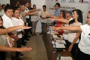 Instala Laura Fernández el comité municipal de salud de Puerto Morelos