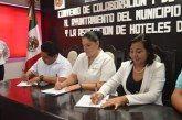 Firman Convenio el ayuntamiento y Asociación de Hoteles de la Riviera maya