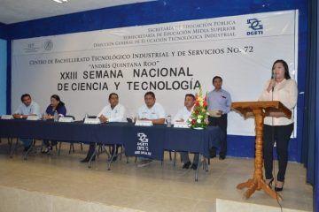 Inaugura la Presidenta Municipal Paoly Perera la XXIII Semana Nacional de Ciencia y tecnología