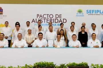 Poderes, órganos autónomos y ayuntamientos, unidos por un objetivo común: Quintana Roo