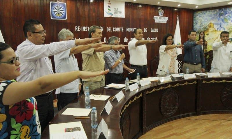 El presidente Juan Carrillo re instaló el Comité Municipal de Salud
