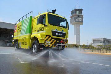 Aeropuertos y Servicios Auxiliaresdesarrolla vehículo aeroportuariopara Extinción de Incendios