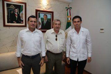 Remberto Estrada acuerda con Aguakán optimizar servicio en beneficio de los usuarios