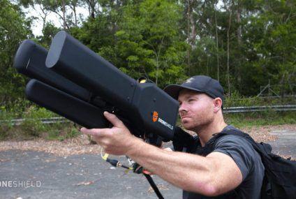 Esta mega-escopeta acabará con cualquier drone, pero no como imaginas