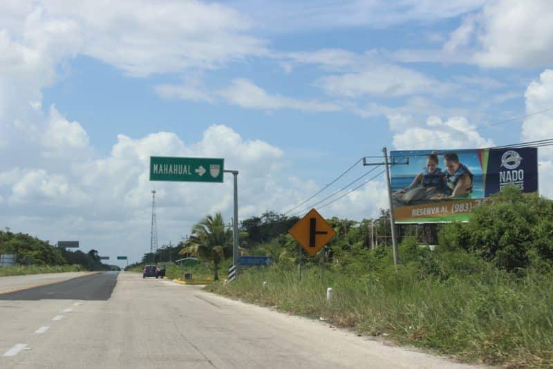 Carreteras del Sur de Quintana Roo, inseguras para el turismo