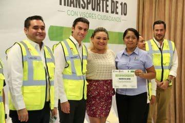 """Garantiza Remberto Estrada plan de movilidad integral y un """"Transporte De 10"""""""