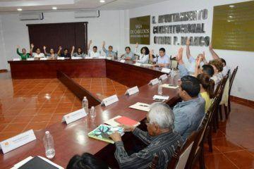 Avalan regidores reformas constitucionalesdel ejecutivo estatal para evitar deuda pública