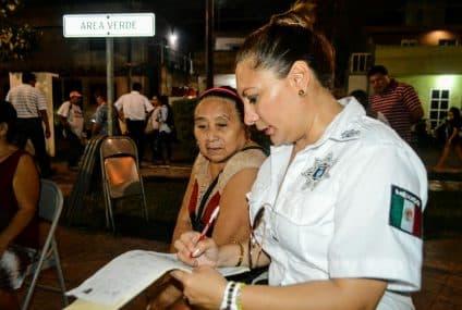 Implementa el gobierno municipal las jornadas por una Isla Mujeres seguro