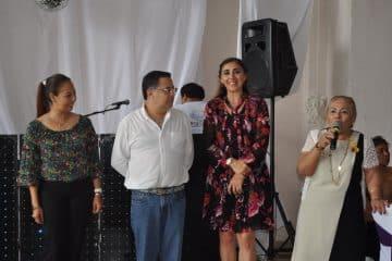 Jubilados y pensionados del ISSSTE celebran su posada