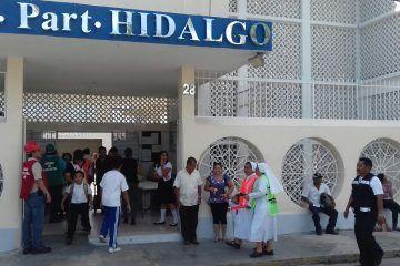 Evacuan Colegio Hidalgo por fuga de gas