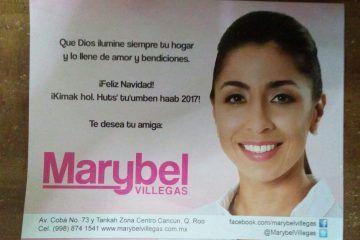 Maribel Villegas y su campaña anticipada con cargo al erario