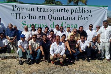 Acusan de corrupto al líder de los taxistas en Cancún