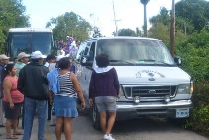 También desbloquean carretera federal Felipe Carrillo Puerto-Tepich