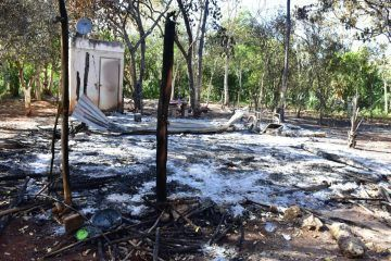Fuego consume vivienda de Don Octavio; pide ayuda a las autoridades