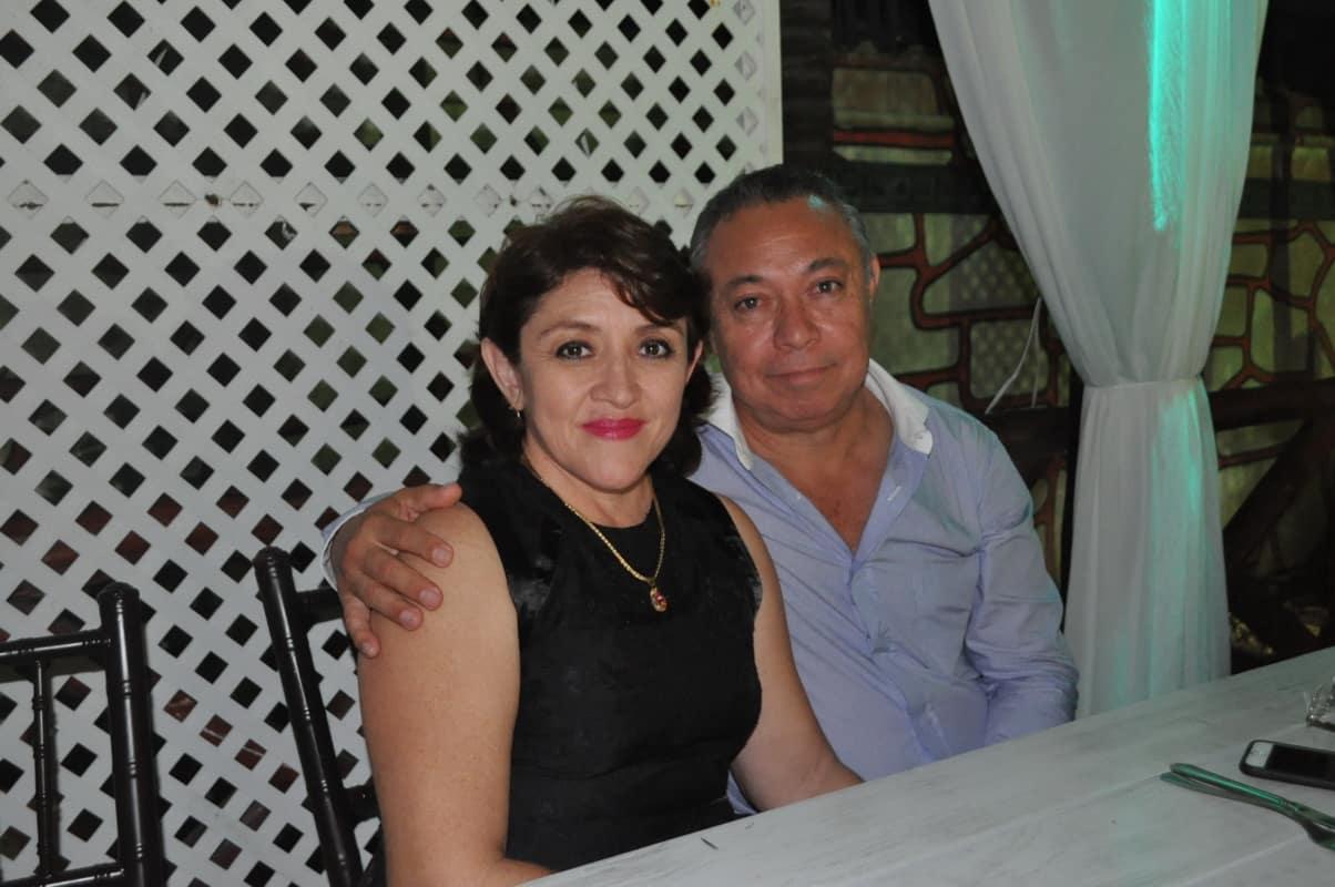 Abraham Rodríguez Herrera y Celia Cuellar de Rodríguez.